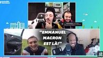 """Macron félicite """"Mcfly & Carlito"""" pour leur aide aux hôpitaux"""