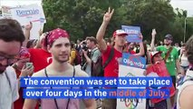 Democratic National Convention to Be Postponed