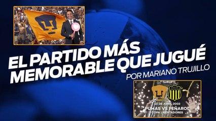 Cuando Pumas sorprendió a Peñarol, los recuerdos de Mariano Trujillo
