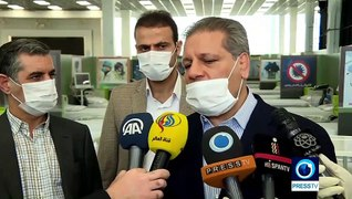 Luxurious Iran Mall serves as hospital for COVID-19 patients