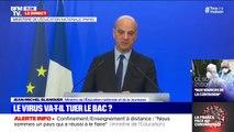 """Jean-Michel Blanquer salue """"la réussite"""" de l'enseignement à distance"""