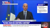 Jean-Michel Blanquer annonce que le bac 2020 se fera intégralement en contrôle continu