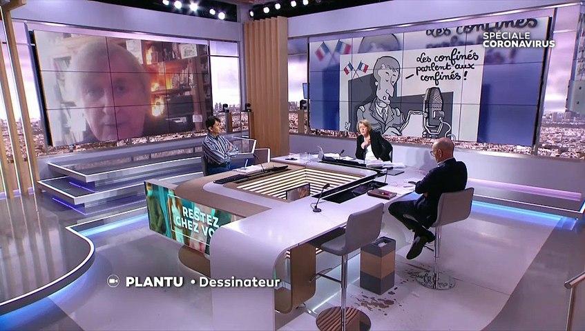 Replay Interview Plantu, LCI, 2 avril 2020