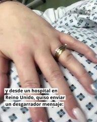 El mensaje de una mujer embarazada que tiene COVID-19