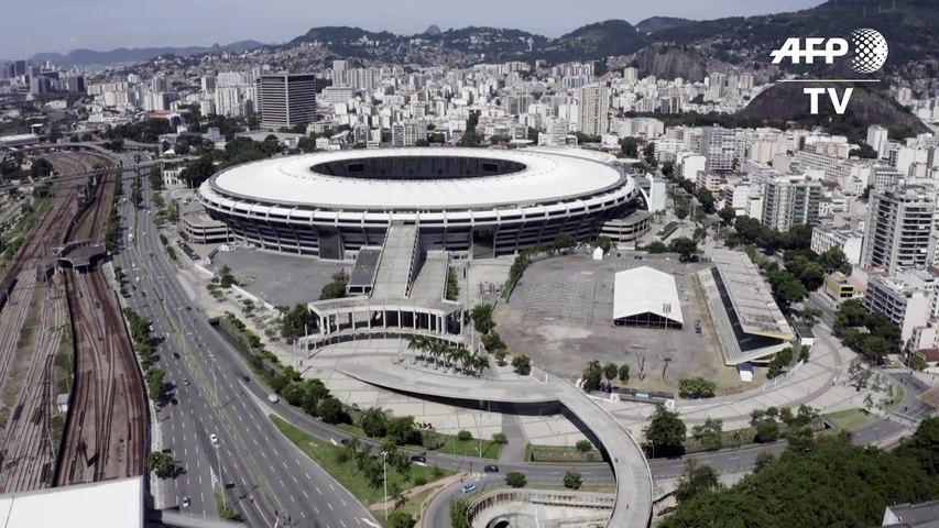 Coronavirus: un hôpital de campagne au stade Maracana de Rio de Janeiro