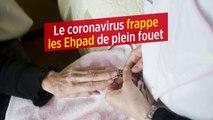 Le coronavirus frappe les Ehpad de plein fouet