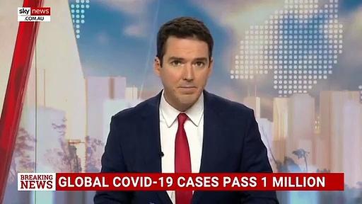 Coronavirus News: Confirmed global cases pass one million – BBC News