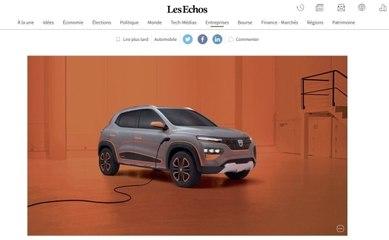 La voiture low cost lancée en Europe par Renault !