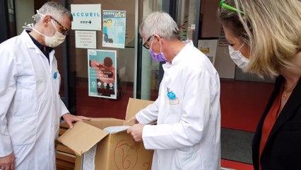 Coronavirus, distribution et réception de masques aux Ehpad de Bruyères (88)