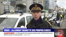Lourdement critiqué pour sa phrase choc, Didier Lallement regrette ses propos