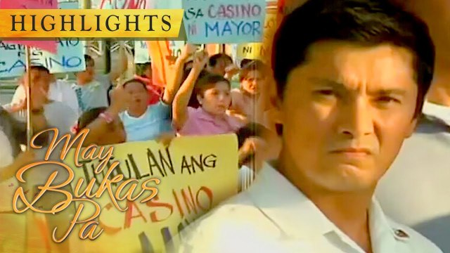 The people of Bagong Pag-asa protests against Enrique's casino | May Bukas Pa
