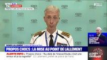 """Après ses propos chocs, Didier Lallement """"veut dire son profond respect pour l'engagement"""" des forces de sécurité et des secouristes"""