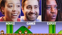 30 People Play Super Mario Bros. Level 1-1