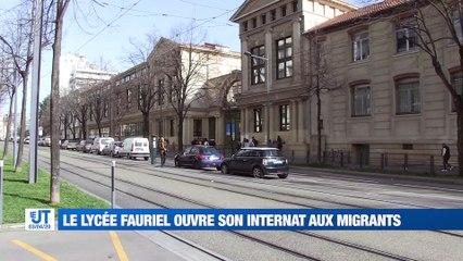 Le lycée Claude Fauriel ouvre son internat aux migrants pendant le confinement