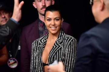 Kourtney Kardashian Reminds Fans That Raising Children is a Job, Too