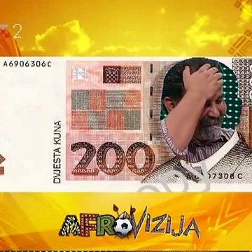 Željko Pervan u novcanici 200 kn Afrovizija 2010.