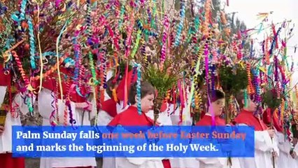 The Meaning Behind Palm Sunday