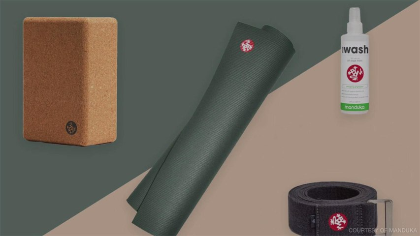This At-home Yoga Set Will Help You Stay Active During Quarantine