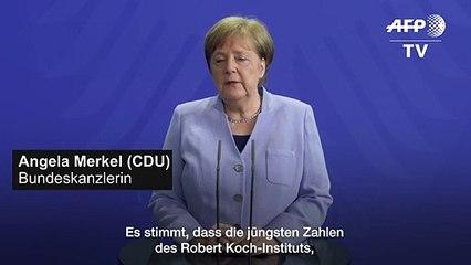 """Merkel: Corona-Zahlen machen """"ein wenig Hoffnung"""""""