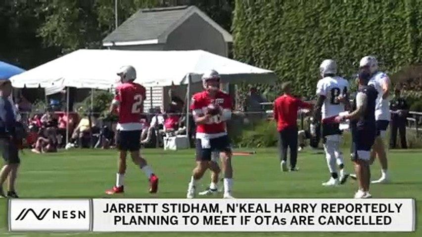Jarrett Stidham, N'Keal Harry May Meet If Patriots OTAs Cancelled