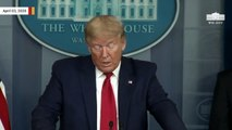 Trump On Coronavirus Outbreak: 'This Was Artificially Induced'