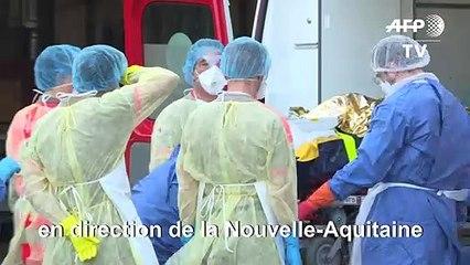 Coronavirus: départ d'un nouveau TGV médicalisé pour soulager les hôpitaux alsaciens