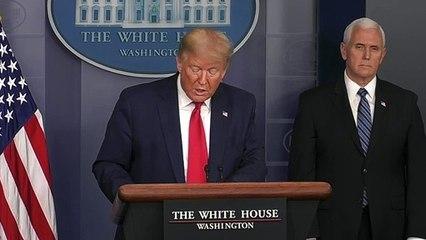 Trump recomenda a americanos cobrir o rosto ao sair às ruas