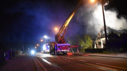 Florennes: incendie d'une maison rue de Mettet (04.04.20)