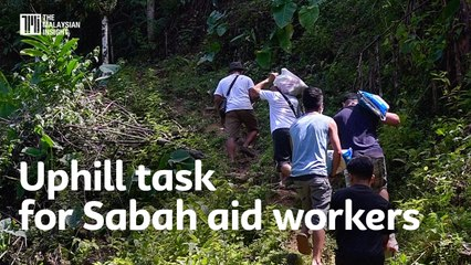 Uphill task for Sabah aid workers