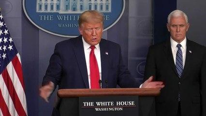 Trump rät zu Mundschutz – will aber selbst keinen tragen