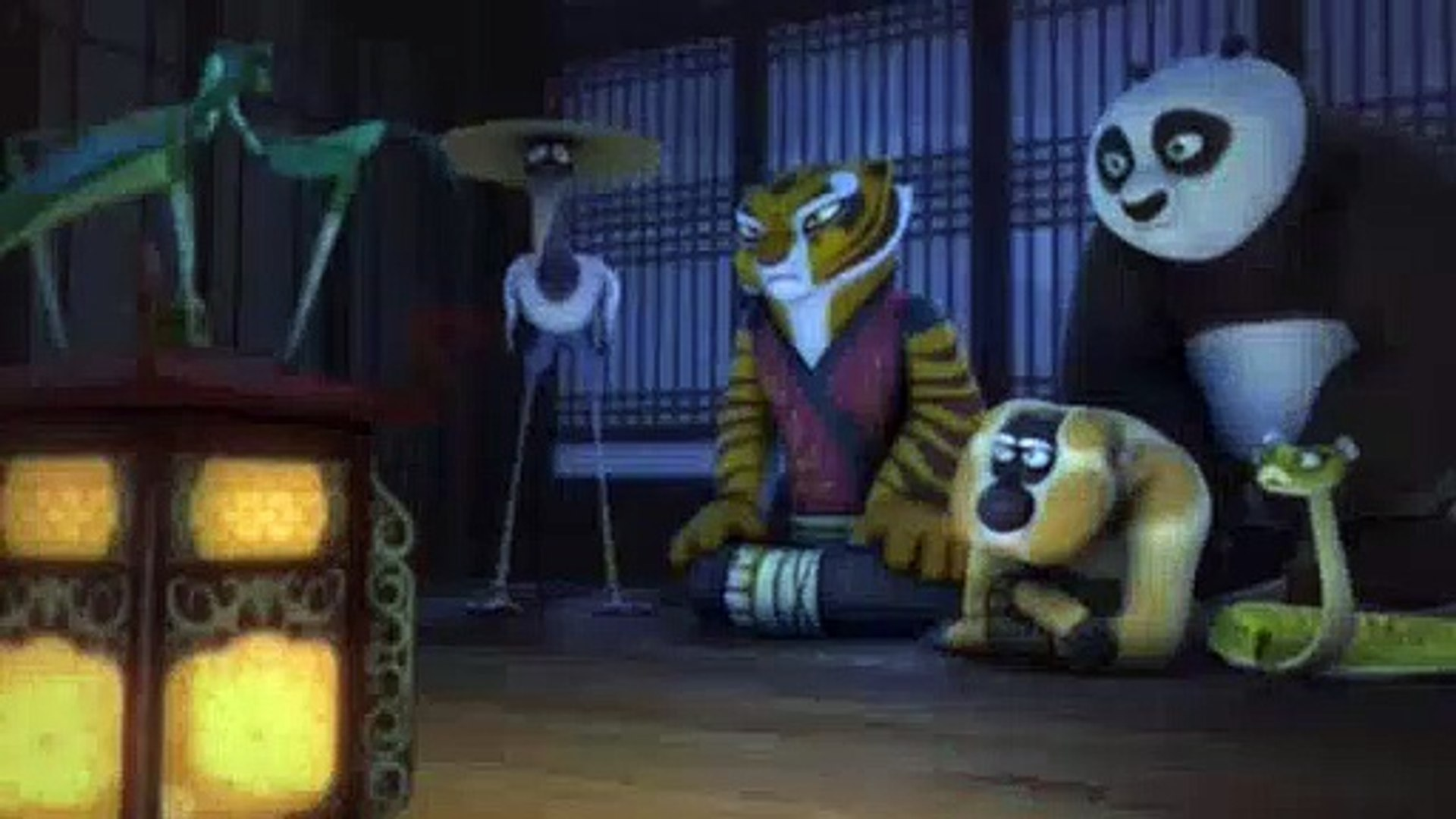Kung Fu Panda Legends Of Awesomeness S02e04 The Po Who Cried Ghost Video Dailymotion