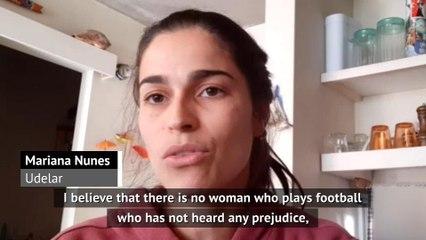 Prejudice in women's football getting better - Brazil's Nunes