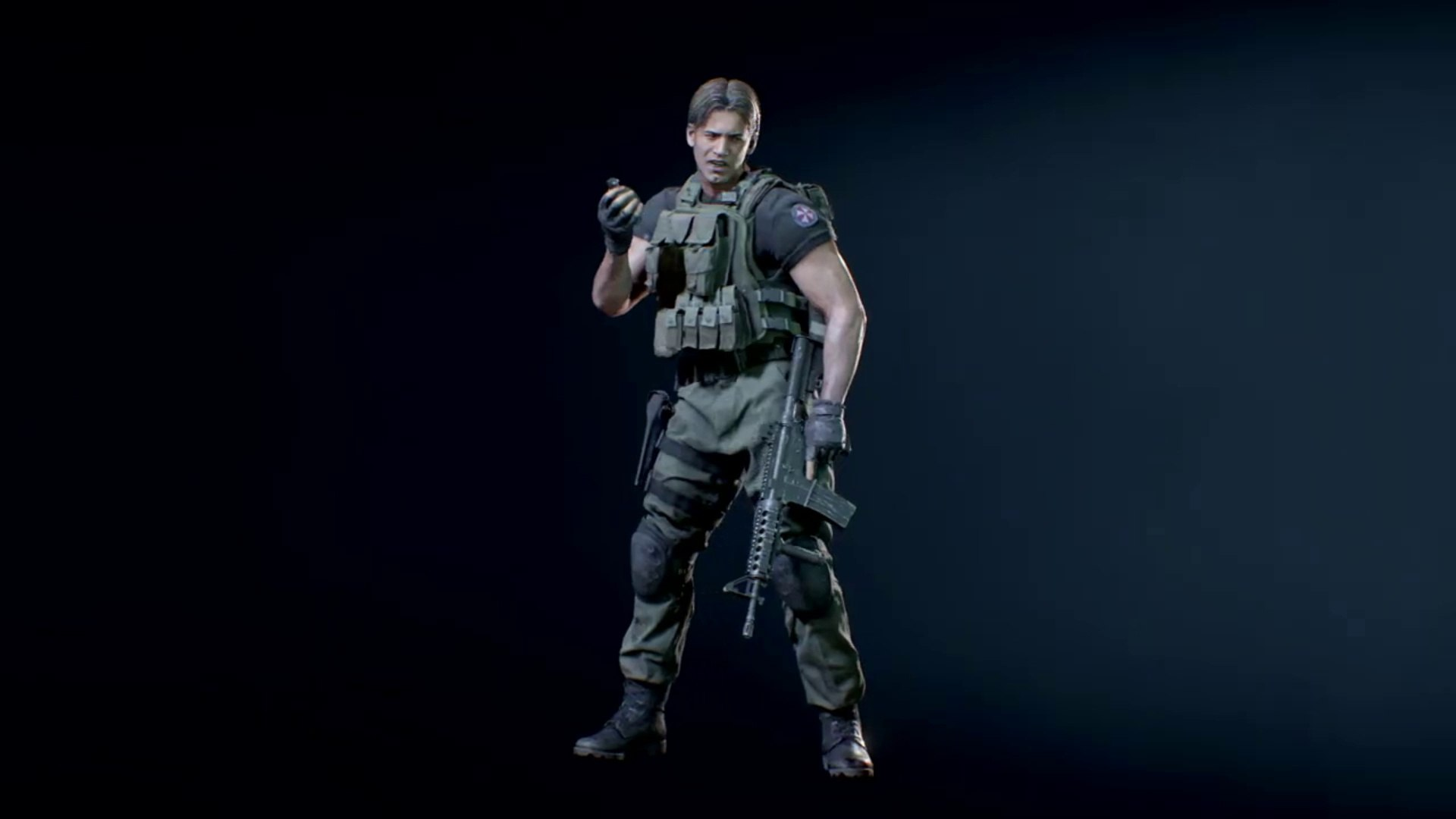 Resident Evil 3 Remake Carlos Classic Hair Bonus Model With