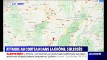 Une attaque au couteau a fait au moins cinq blessés à Romans-sur-Isère dans la Drôme