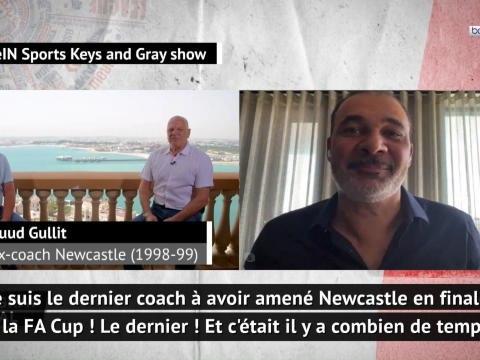 """Premier League - Ruud Gullit : """"Je suis le dernier coach à avoir amené Newcastle en finale de la FA Cup !"""""""