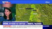 Ce que l'on sait de l'attaque au couteau à Romans-sur-Isère qui a fait au moins 2 morts et plusieurs blessés