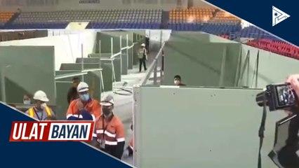 Rizal Coliseum sa Maynila na gagawing CoVID-19 facility, ininspeksyon