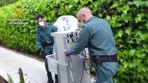 La Guardia Civil colabora en el traslado de 5 respiradores