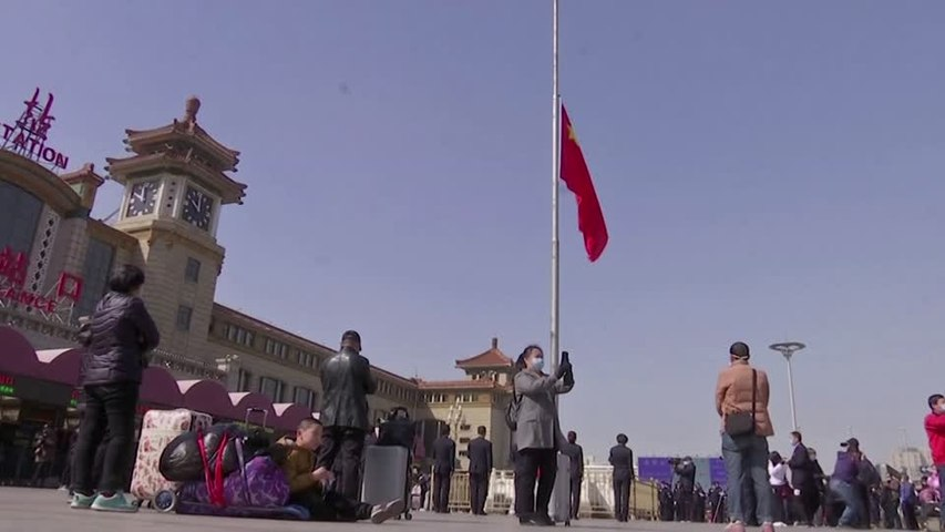 China holds national mourning for victims of virus outbreak