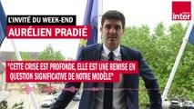 """Aurélien Pradié : """"Cette crise est profonde, elle est une remise en question significative de notre modèle"""""""
