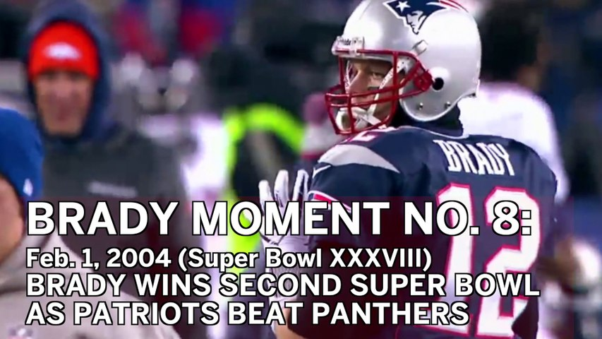 Tom Brady No. 8 Moment: QB Wins Second Super Bowl