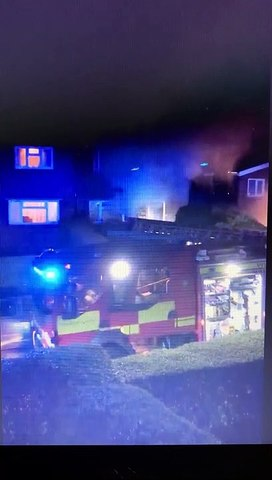 House fire in Pudsey