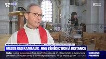 Cette année, la messe des rameaux sera célébrée sans fidèles