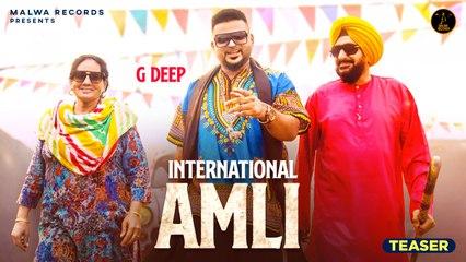 G DEEP Ft. The Boss - International Amli - Teaser | Latest Punjabi Songs 2020 | Malwa Records