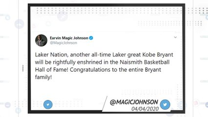 Socialeyesed: Kobe Bryant goes into basketball's Hall of Fame