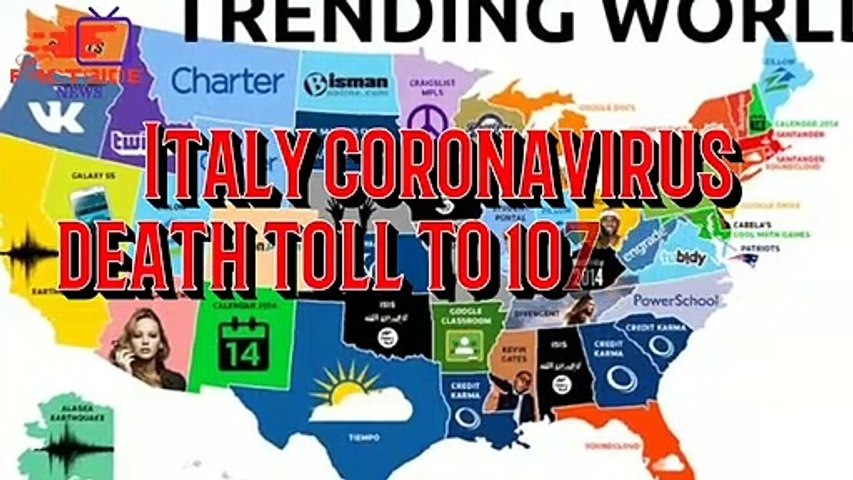 Italy coronavirus death toll to 107, 3,089 cases_Live updates #COVID-19-NEWS