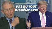 Face au coronavirus, ce discours de Trump illustre le dilemme des politiques