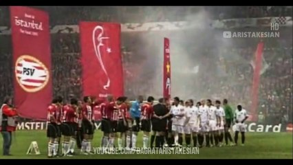 PSV Eindhoven v AC Milan: 3-1 #UCL 2005 SEMI-FINAL FLASHBACK - (Russian Commentary) FULL HD 1080p