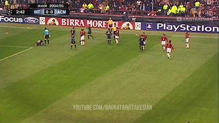 Inter Milan v AC Milan: 0-1 (Agg: 0-3) #UCL 2005 QUARTER-FINAL FLASHBACK - FULL HD 1080p