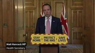 UK coronavirus deaths increase by 621 to 4,934